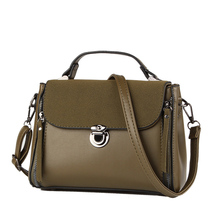 2017 Autumn vintage women leather handbags small shoulder bags simple women messenger crossbody bag Mini tote bag Luxury brand