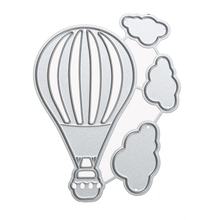 Hot Air Balloon metal die cutting dies scrapbooking embossing folder suit for sizzix fustella big shot cutting machine(China)