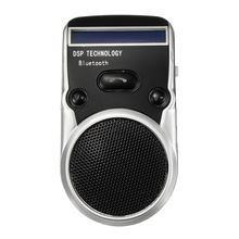 High Quality Solar Powered Bluetooth Handsfree Car Kit Digtal LCD Speaker With Microphone For Mobile Phones Dial