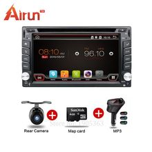 online best shopping Universal 2 din Android 6.0 car dvd system GPS+Wifi+Bluetooth+Radio+1GB CPU+DDR3+Capacitive Touch Screen+3G
