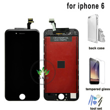 For Apple for iPhone 6 6g LCD Complete Display Screen with Touch Glass Digitizer 4.7'' Assembly Replacement for iphone6