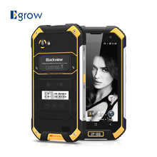 Original Blackview BV6000S Waterproof Cell Phones 4.7 Inch Android 6.0 Mobile Phone MT6735 Quad Core 2G RAM 16G ROM Smartphone(China)