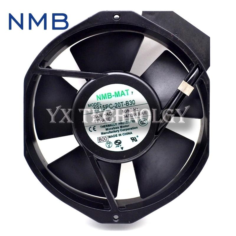 5915PC-20T-B30  200V 0.236A  new original 172 * 150 * 38 aluminum frame AC Fan<br>
