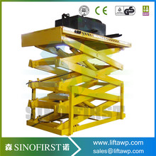 Factory Direct Sale Stationary Scissor Lift Platform For Warehouse
