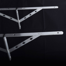 Heavy Duty Shelf Brackets Wall Mounting Bracket Shelf Support Frame Triangle Bracket 20cm length Free Shipping by DHL