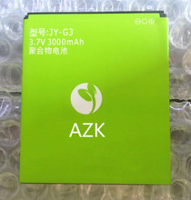 AZK 1 PCS New 3000MAh battery for  Jiayu G3 G3T G3s G3c  cell phone High Quality  JY-G3 battery  Free shipping+tracking number