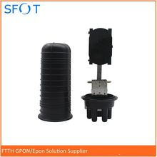 Fiber Optic Splice Closure, Vertical type, 3 in 3 out, can be 24/48/96 cores.(China)