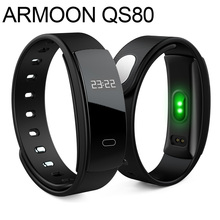 Buy Smart Band QS80 Sleep Monitor Fitness Tracker Heart Rate Smart Bracelet Blood Pressure Activity Tracker Smartband pk mi band 2 3 for $17.68 in AliExpress store