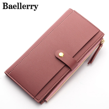 Baellerry Women Wallets Fashion Leather Wallet Female Purse Women Clutch Wallets Money Bag Ladies Card Holder WWS049(China)
