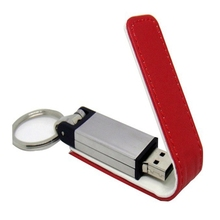 Metal Leather Keychain Pendrive 512GB Usb Flash Drive 64GB 128GB 256GB USB 2.0 Memory Stick Card Key Fashion Gift Pen Drive 32GB