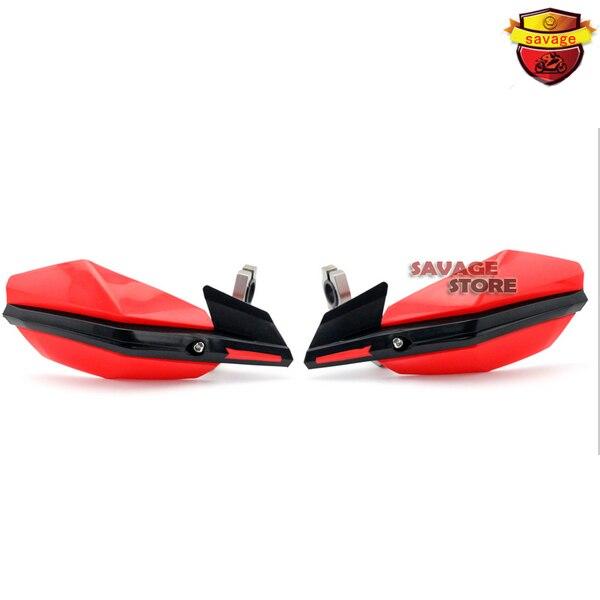 For YAMAHA TT600R TW200 WR125X WR250 WR450 XT660 Red Motorbike Dirt Bike Handguard Universal 7/8 22mm Hand Guard<br>