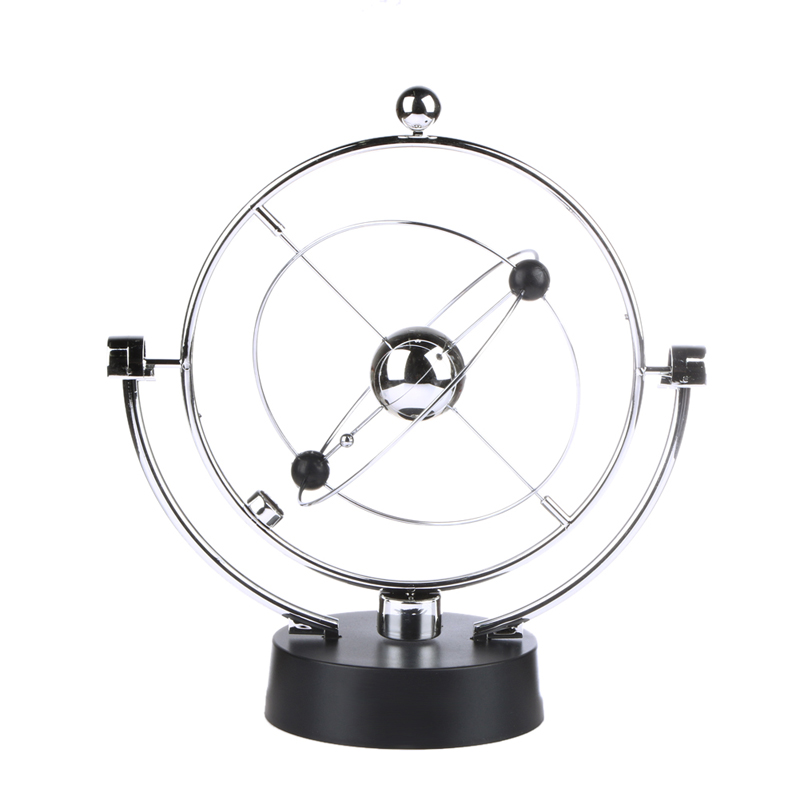 1PC Kinetic Orbital Revolving Gadget Perpetual Motion Desk Art Milky Way Toy Office Decor Educational Science Art<br><br>Aliexpress