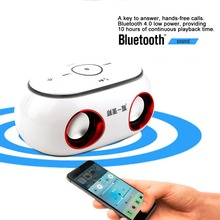 Universal Wireless Bluetooth 4.0 Auto Car Speaker RGB Color Switch Computer PC Smart Phone Box Loudspeaker Speaker