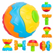 1PCS Multi-function Fitness Ball Educational Blocks Baby Educational Building Toys Magic Cubes Brinquedos Educations Block Ball