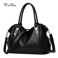 super cheap big women casual tote leather Large capacity fashion messenger bag for women handbags Female single shoulder bags