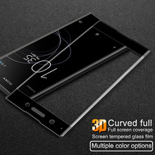 Buy Tempered Glass Sony Xperia XA1 Plus Screen Protector Imak 3D Curved Full Coverage Sony XA1 Plus Protetive Glass for $8.99 in AliExpress store