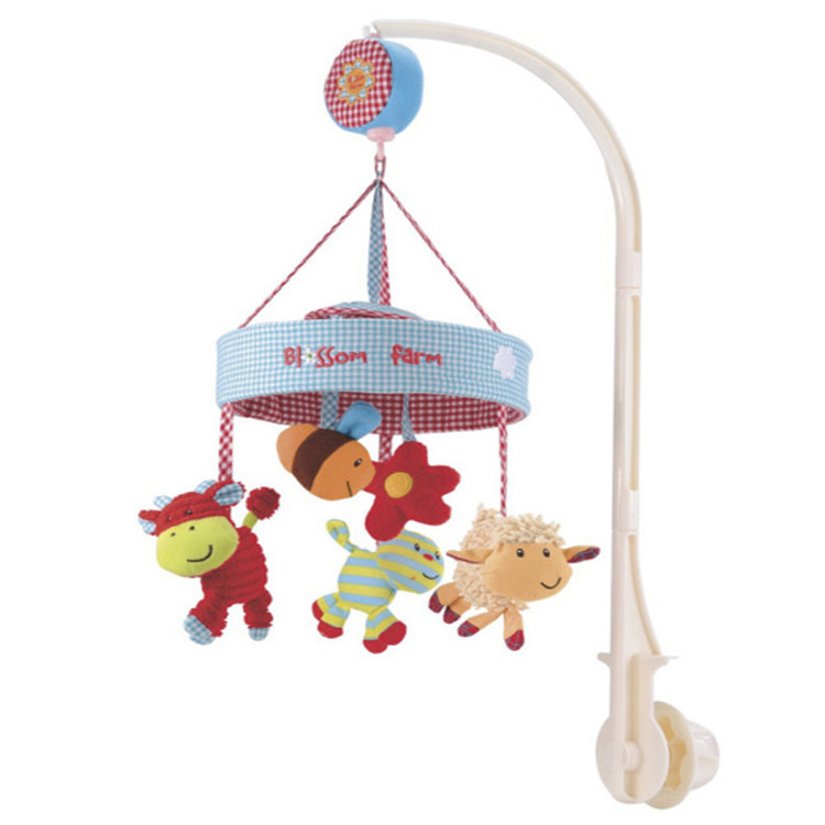 colorful Baby Crib Musical Mobile Cot Bell Music B...