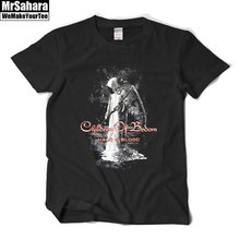 Children Of Bodom Men T shirt Street Fashion Metal Rock HipHop Halo Of Blood Tee Shirt Homme O neck Short Sleeve Summer T shirts(China)
