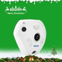 ESCAM Shark QP180 960P IP VR Camera WiFi Network Fisheye 1.44mm 360 Wi-Fi Cameras Surveillance CCTV Cam support VR BOX
