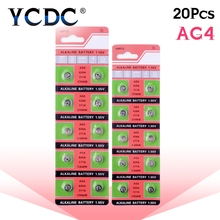 YCDC 49%off Sale 20pcs(1pack)100% Original 377 SR626SW 626 SR626 V377 AG4 Watch Battery Button Coin Cell MADE IN CHINA