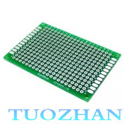 5pcs/lot 6*8 cm 1.6mm double-Side Copper prototype pcb Universal Board  Wholesale Double spray tin