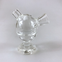 New Design Glass Smart MINI Bubblers Cigarette Filter Tips Cigarette Water Pipe Smoking Glass Filter Tips