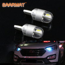 4x T10 LED 12V W5W 194 Car light 168 194 Turn Side License Plate Light car parking Fog light clearance light Blue White Amber(China)