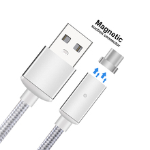 2.4A Fast Charging Magnetic Type C Cable USB C Data Cable Type-C USB Charger Cable for Xiaomi OnePlus 2 Nexus 6P 5X ZUK Z1 Z2