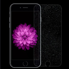 0.26mm Diamond Glitter Tempered Glass Screen Protector Toughened protective Film for iPhone 5 5s SE /6 6s/6plus 6splus/7/7 Plus(China)