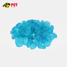 Fish Tank Decoration Aquarium Pebbles Ornament Marbles Tumbled Matte Beach Sea Glass Beads for Aquarium Sand Stones Gems
