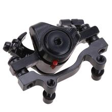 Buy Bicycle Mechanical Disc Brake Hydraulic Brake System Set Bicycle Disc MTB Road Bike Accessories Rear Rotor:160/180 for $6.18 in AliExpress store