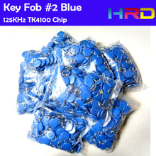 100pcs tk4100 em4200 contactless id keyfob smart key tag card promixity rfid read only token access control identifications(China)