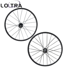 LOLTRA 700C 24mm clincher fixed gear(track) carbon bike wheels flip flop wheelset(China)