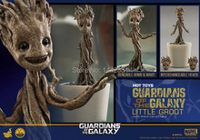 Marvel Guardians of the Galaxy Groot Changeable Heads 1/4 Scale 12cm Tree Toys PVC Action Figure Anime Brinquedos