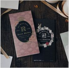30pages/pack Black fairy tale series notepad mini planner vocabulary notebook schedule agenda list memo pads message note escola(China)