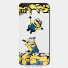 High Quality Cell phone case For Samsung Galaxy 2016 J5 J7 J3 J1 A3 A5 A7 Case Hard PC Minions Patterned Cover