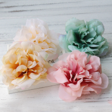 Artificial Flower Hair Clips. Wedding Party Woman Fabric Flower Hair fascinators. Floral Hair Clips Travel festival ornament(China)
