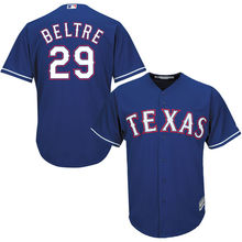 MLB Men's Texas Rangers Adrian Beltre 29 Baseball Royal Alternate Cool Base Player Jersey 02(China)