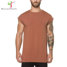 Buy Brand Mens cotton t shirt 2018 summer new gyms Fitness Bodybuilding Shirts male fashion Casual Short sleeved Tees Tops clothes for $7.73 in AliExpress store