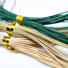 0.5mm Korea rope * 4M wax string holes jade beads wire rope Ock diy rope necklace wax cord Jewelry Findings & Components TP2037(China)