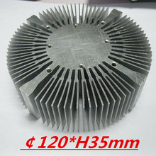 LED heatsink ,Diameter :120mm  H:35mm,aluminum heatsink , LED cooler  ,LED radiator
