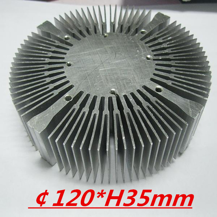 LED heatsink ,Diameter :120mm  H:35mm,aluminum heatsink , LED cooler  ,LED radiator<br>