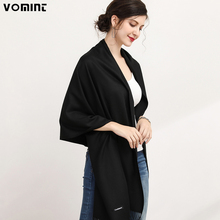 Vomint New Brand Scarf Winter Women Scarf Female Solid Scarf Best Quality Cotton Studios Tassels Women Wraps L049(China)