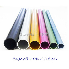6 Pcs Different Size Curve Rod Sticks Fashion Nail Art Tools Artificial Nail Tool Free Shipping(China)
