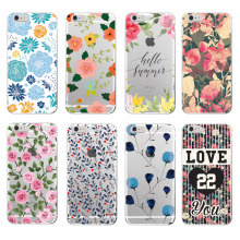 Floral Flowers Rose Daisy Cherry Blossom Trendy Fashion Cute Soft Phone case For Samsung Galaxy J5 A5 S8 S8PLUS S6 S7 edge(China)