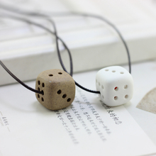 ceramic pendant necklace To send his girlfriend collarbone chain contracted special gifts MX3139(China)