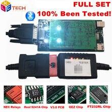 10PCS/LOT DHL OBDIICAT-150 V3.0 OBD2 Car truck NEC Relay Bluetooth AS MVD obd ii scanner 2016.00 software auto diagnostic tool(China)