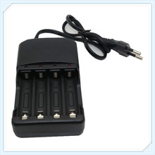 Hot selling AA AAA battery charger li-ion battery charger for 14500 16340 18350 18650 26650(China)