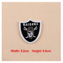 High Quality 1PC Patches For Clothing Embroidery Badge Raiders Patches For Apparel Bags Hat Cap DIY Accessories(China)