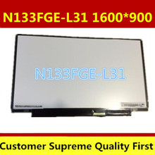 New A+13.3 inch LCD Laptop 1600x900 WideScreen HD N133FGE-L31 lcd screen display replacement repair part for SONY laptop(China)